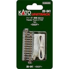 N Kato Unitrack Binario di raccordo 62 mm