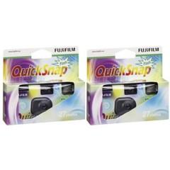 Macchina fotografica usa e getta Quicksnap Flash 27 2 pz. con flash integrato