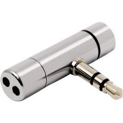Mini VoIP Microfono per PC Argento Cablato
