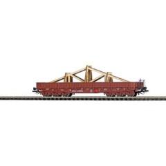 Vagone piatto TT Samm della DR con fascetta per tetto