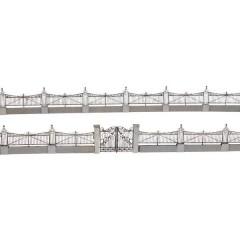 Steccato Jugendstil Kit da montare taglio laser N
