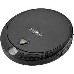 Lettore CD portatile CD, CD-R, CD-RW, MP3 Nero