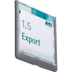 Insegna della porta CLICK SIGN - 4862 (L x A) 149 mm x 148.5 mm Grafite