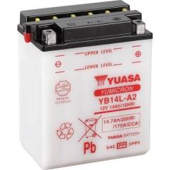 Batteria per moto YB14L-A2 12 V 14 Ah