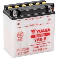 Batteria per moto YB9-B 12 V 9 Ah