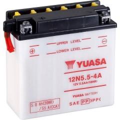 Batteria per moto 12N5.5-4A 12 V 5.5 Ah