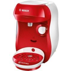 Happy Rosso, Bianco Macchina per caffè con capsule