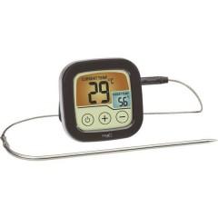 Termometro per Grill Controllo della temperatura, con touch screen, Cavo sensore Frittura, Cibo
