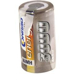 Batteria ricaricabile a cella singola NiMH Sub-C 1.2 V 3000 mAh con linguette a saldare