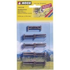 Recinzione con pali di legno Kit da montare H0