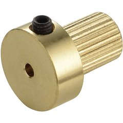 Ottone Inserto per giunto Ø foro: 2 mm (Ø x L) 13 mm x 15 mm