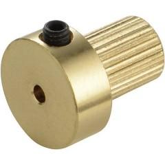 Ottone Inserto per giunto Ø foro: 3 mm (Ø x L) 13 mm x 15 mm