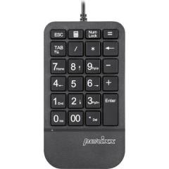 PERIPAD-202 H B USB Tastierino numerico pulsanti multimedia Nero