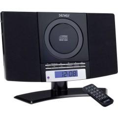 MC-5220 Sistema stereo AUX, CD, FM, Montaggio a parete Nero