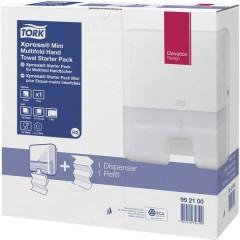 , Towel Dispenser Elevation Starter Pack intercalati Mini C & C 952.100 in plastica 1 pc