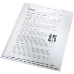 Busta trasparente a L 4000 DIN A4 Polipropilene 0.13 mm Incolore 100 pz.