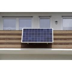 SUNpay 300 Impianto a energia solare 300 Wp Cavo di collegamento incl., Inverter incl.