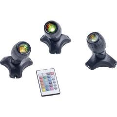 Illuminazione per stagno LED (monocolore) 5 W Nero