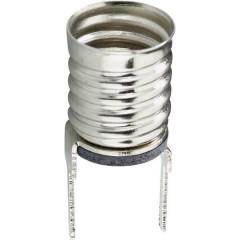 Porta lampada Attacco: E10 Connessione: Pin a saldare 1 pz.