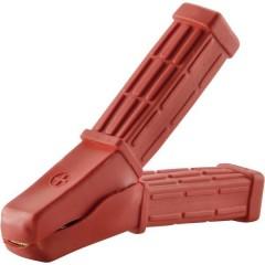 Pinza di carica 80 A/30 V/DC viti, rossa, 80A, contenuto: 1 pz.