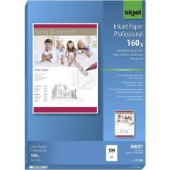 Inkjet Paper Professional Carta per stampante a getto dinchiostro DIN A4 160 gm² 100 Foglio Bianco puro