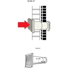 N37825 Canale di ventilazione (Ø) 12.5 cm
