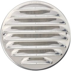 N31835 Griglia di scarico Acciaio inox Adatto al diametro del tubo: 10 cm