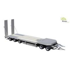 Rimorchio per trasporto veicoli con rampa 5 essieux 1:14