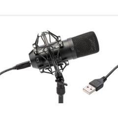 Condenser Mic SW Microfono USB da studio Cablato incl. ragno, incl. cavo