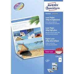 Premium Laser Paper 200g high gloss Carta per stampante laser DIN A4 200 gm² 200 Foglio Bianco
