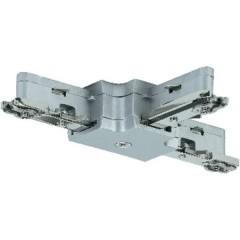 Componente per sistema su binario ad alta tensione Giunto a T Cromo (opaco)