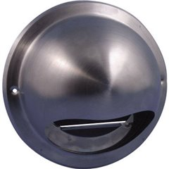 N34835 Griglia per cappa di aspirazione Acciaio inox Adatto al diametro del tubo: 10 cm