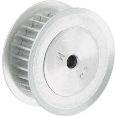 Alluminio Puleggia per cinghia dentata Ø foro: 4 mm Diametro: 25 mm Numero di denti: 25