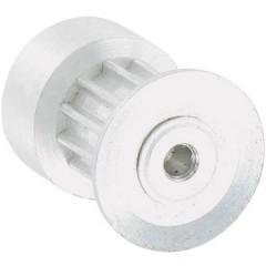Alluminio Puleggia per cinghia dentata Ø foro: 2.3 mm Diametro: 13 mm Numero di denti: 12