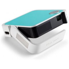 Videoproiettore M1-mini LED Luminosità: 50 lm 854 x 480 WVGA 500 : 1 Bianco, Turchese, Nero