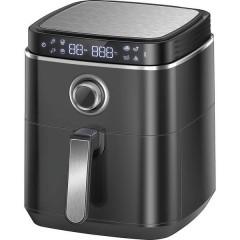 Friggitrice ad aria calda 1500 W Funzione aria calda, con display Nero