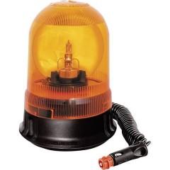 Luce a tutto tondo GF.25 12 V via rete a bordo Ventosa, Magnetico Arancione