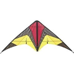 Aquilone acrobatico Quickstep II Larghezza estensione 1350 mm Intensità del vento 2 - 5 bft