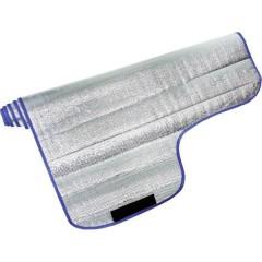 Copertura vetri auto superficie in alluminio, oscuramento (L x A) 150 cm x 95 cm Alluminio (lucido)