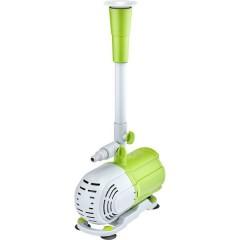 Pompa per fontane a getto in plastica con 4 diverse teste di spruzzo, 58W 2300 l/h 3 m