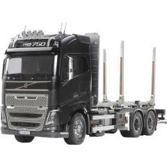 Volvo FH16 Globtrotter 750 6x4 Timber Truck 1:14 Elettrica Camion modello In kit da costruire