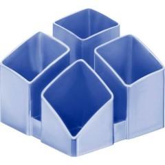 SCALA Porta matite Blu ghiaccio Numero scomparti: 4