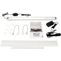 Lampada per coltivazione con supporto GrowLight Duo LED a montaggio fisso 22 W Bianco neutro 1 pz.