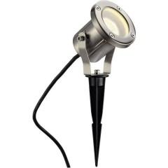 Nautilus Spike Faretto da giardino LED (monocolore), Lampada a risparmio energetico, Lampadina Alogena GU10 35 W