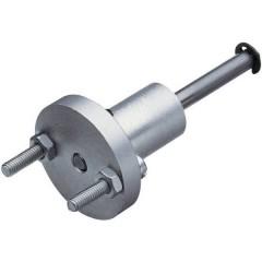 Albero per ruota di supporto Alluminio con flangia