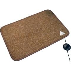 Heat Master® Tappetino riscaldante (L x L x A) 90 x 60 x 1.5 cm Cognac