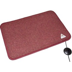 Heat Master® Tappetino riscaldante (L x L x A) 70 x 50 x 1.5 cm Bordò
