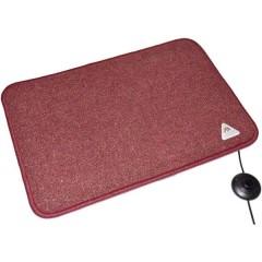 Heat Master® Tappetino riscaldante (L x L x A) 60 x 40 x 1.5 cm Bordò