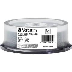 M-DISC Blu-ray XL vergine 100 GB 25 pz. Torre stampabile