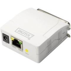 Server di stampa di rete LAN (10/100 Mbit / s), Parallela (IEEE 1284)